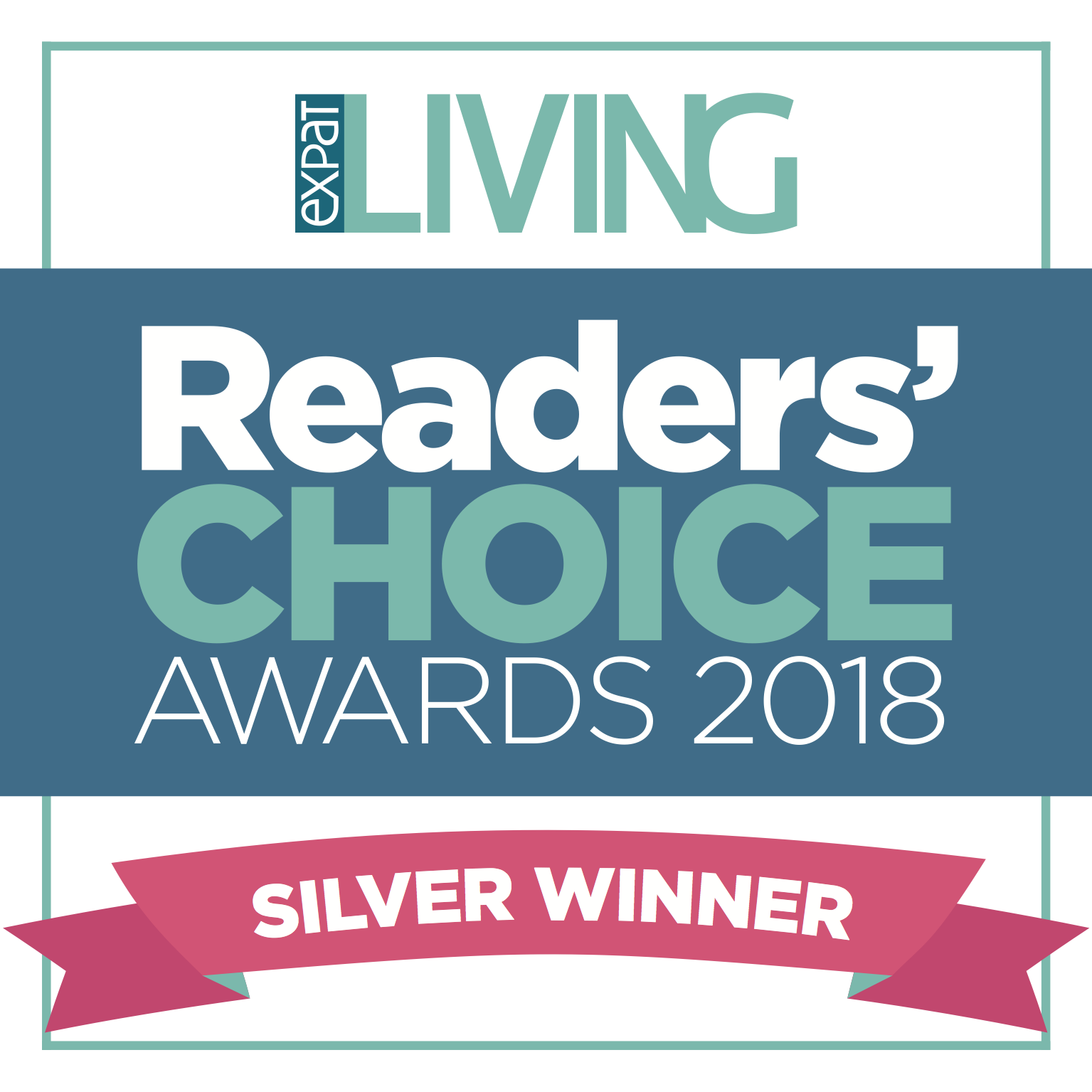 Silver winner of the Reader's Choice Awards 2018 for Employment Agency