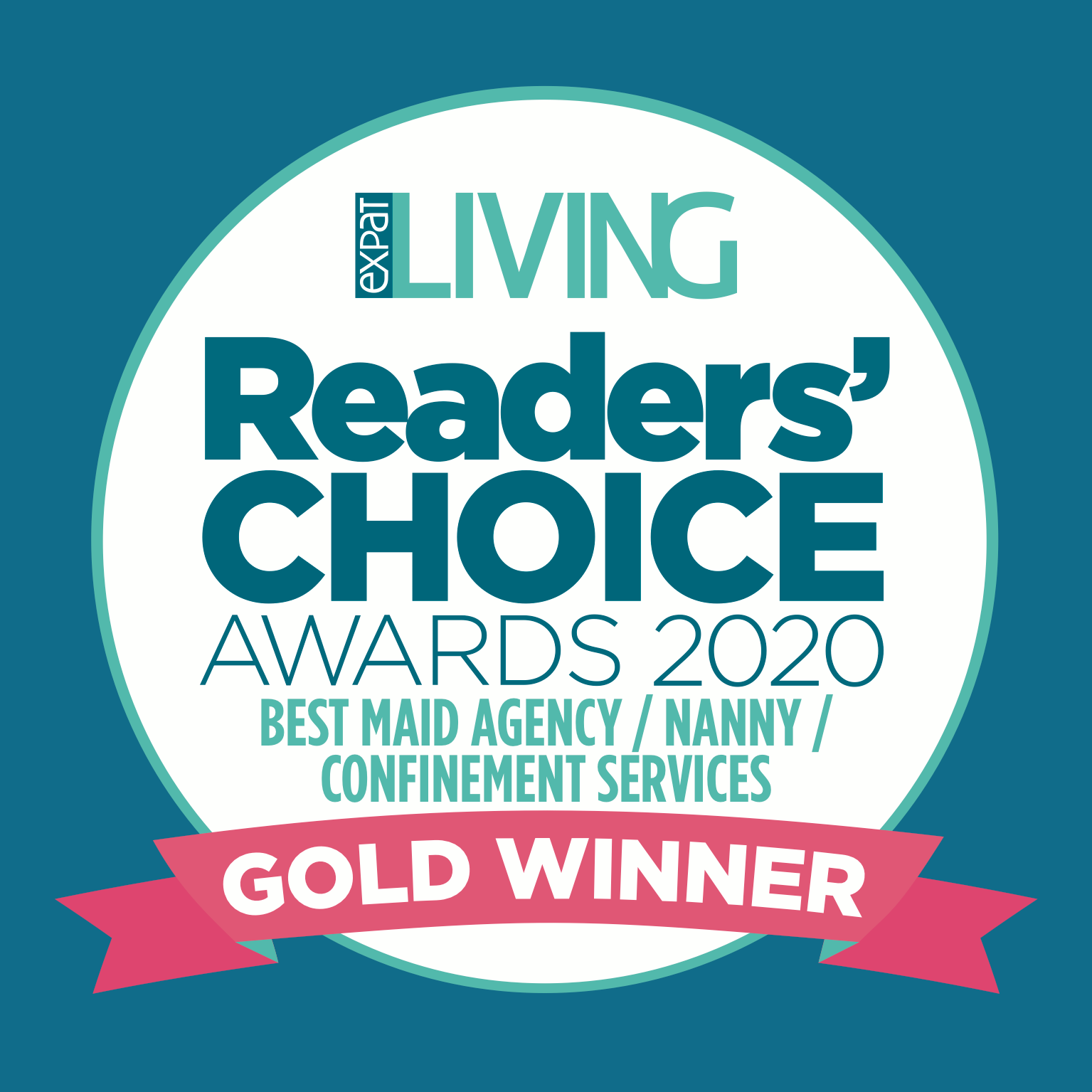 Gold winner of the Reader's Choice Awards 2020 for Employment Agency